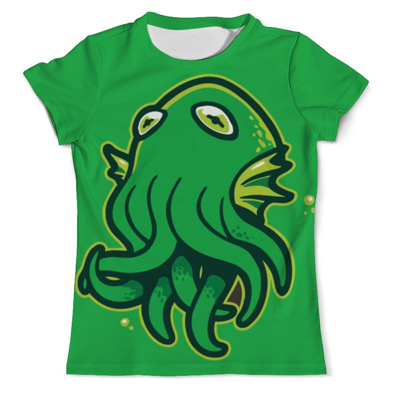 Футболка с полной запечаткой (мужская) Printio Octopus / осьминог футболка с полной запечаткой мужская printio octopus осьминог