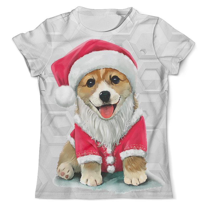 Футболка с полной запечаткой (мужская) Printio Собака - символ нового года футболка с полной запечаткой мужская printio собака