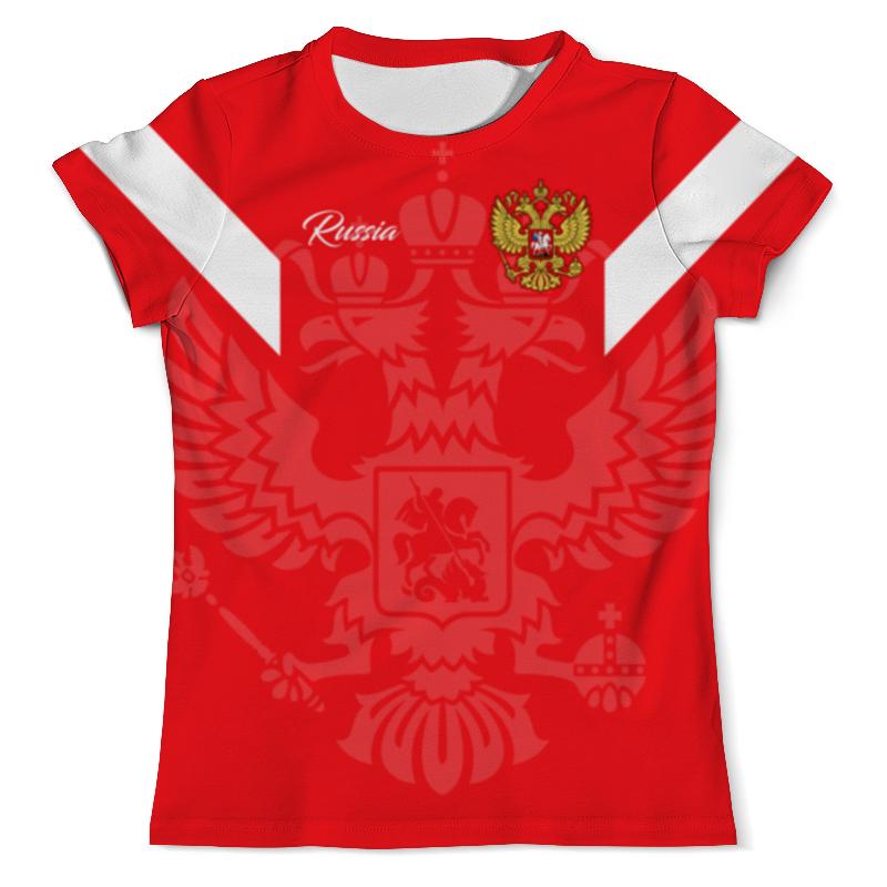 Футболка с полной запечаткой (мужская) Printio Сборная россии футболка с полной запечаткой для мальчиков printio сборная россии по футболу