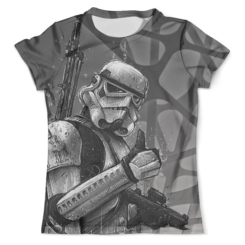 Футболка с полной запечаткой (мужская) Printio Star wars design (stormtrooper) футболка с полной запечаткой мужская printio clone troopers construction star wars