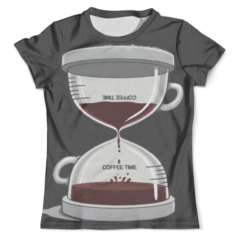 цена на Футболка с полной запечаткой (мужская) Printio Coffee time / время кофе