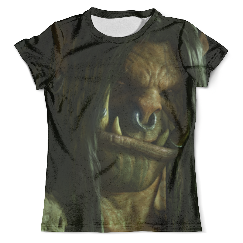 Футболка с полной запечаткой (мужская) Printio Громмаш адский крик (варкрафт) футболка адский