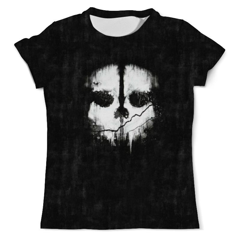 Футболка с полной запечаткой (мужская) Printio Call of duty: ghosts a bush of ghosts футболка
