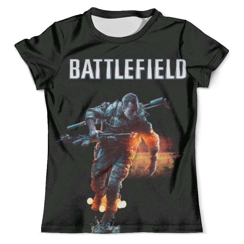 Футболка с полной запечаткой (мужская) Printio Battlefield футболка с полной запечаткой мужская printio солдат battlefield
