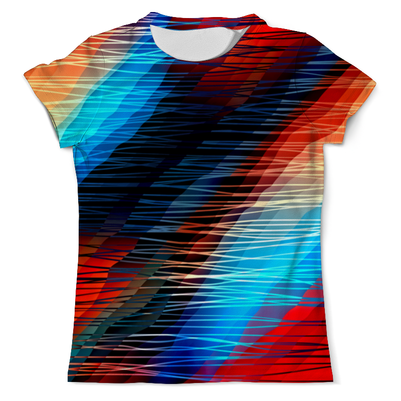 Футболка с полной запечаткой (мужская) Printio Цветные текстуры футболка с полной запечаткой мужская printio цветные текстуры