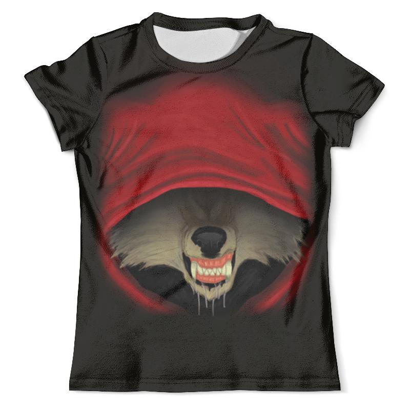 Футболка с полной запечаткой (мужская) Printio Красная шапочка футболка 501 красная