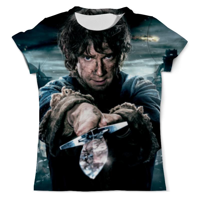 Printio Хоббит (the hobbit) футболка с полной запечаткой женская printio the hobbit