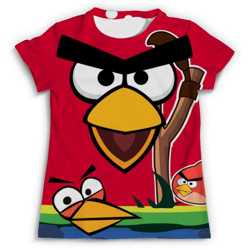 Футболка с полной запечаткой (мужская) Printio Angry birds 2