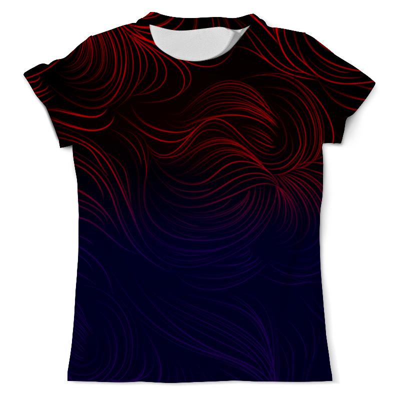 Printio Цветные линии футболка с полной запечаткой мужская printio цветные текстуры