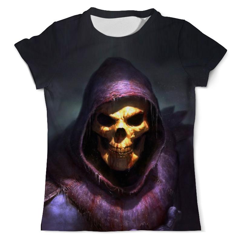 Футболка с полной запечаткой (мужская) Printio Скелет футболка с полной запечаткой мужская printio рыба скелет 2