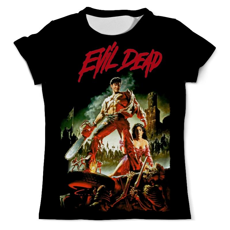Футболка с полной запечаткой (мужская) Printio Evil dead футболка evil dead