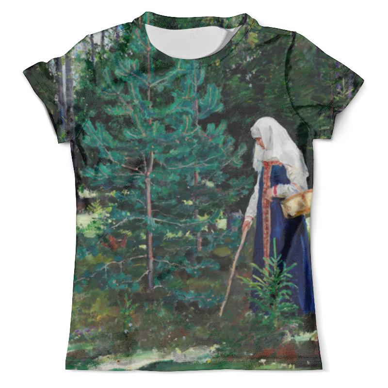 Футболка с полной запечаткой (мужская) Printio В лес за грибами (сергей виноградов) футболка print bar за грибами в лес