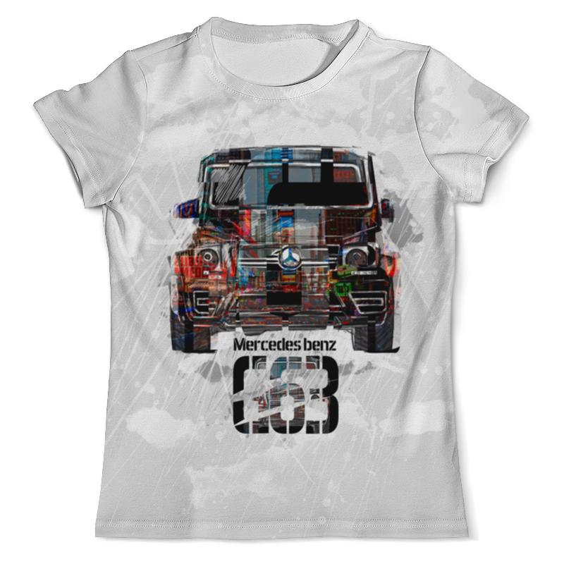 Футболка с полной запечаткой (мужская) Printio Mercedes benz g-класс (гелендваген) футболка с полной запечаткой для мальчиков printio mercedes benz amg гелендваген