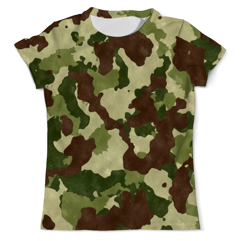 Футболка с полной запечаткой (мужская) Printio Пятна цветные футболка с полной запечаткой мужская printio цветные текстуры