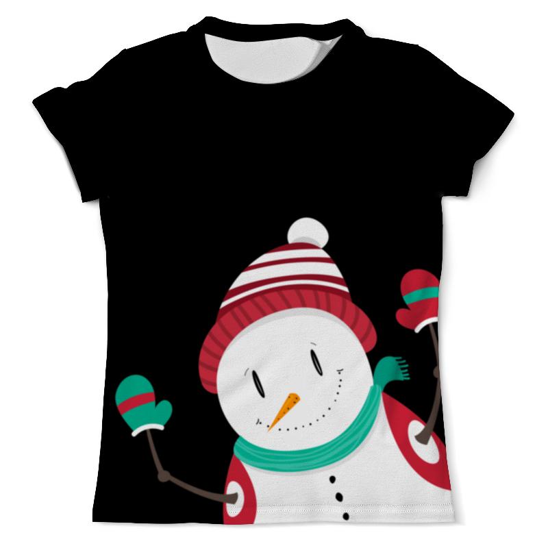 Printio Привет снеговик футболка с полной запечаткой мужская printio счастливый снеговик