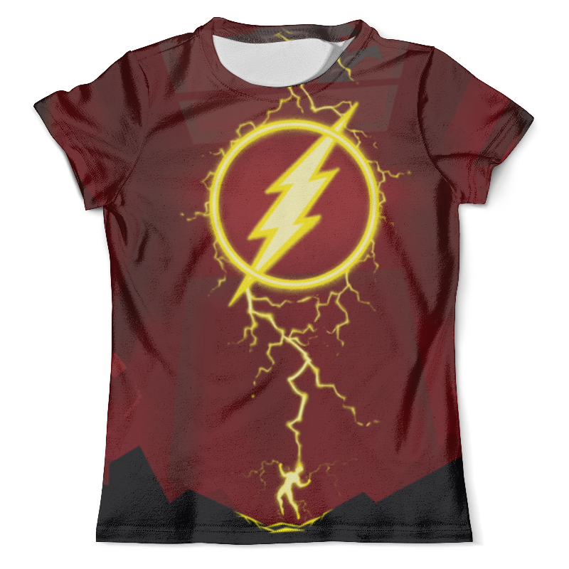 Футболка с полной запечаткой (мужская) Printio Flash/флэш футболка с полной запечаткой мужская printio flash v grodd