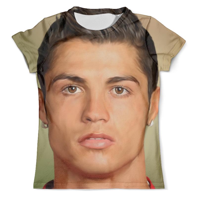 Футболка с полной запечаткой (мужская) Printio Криштиану роналду (футболист) футболка с полной запечаткой мужская printio футболист
