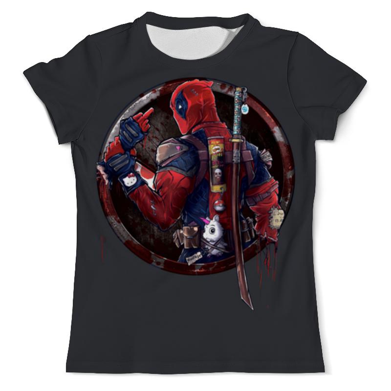 Фото - Printio Deadpool joke футболка с полной запечаткой мужская printio deadpool joke