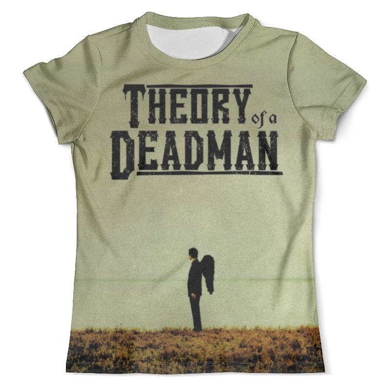 Футболка с полной запечаткой (мужская) Printio Theory of a deadman виниловая пластинка theory of a deadman savages