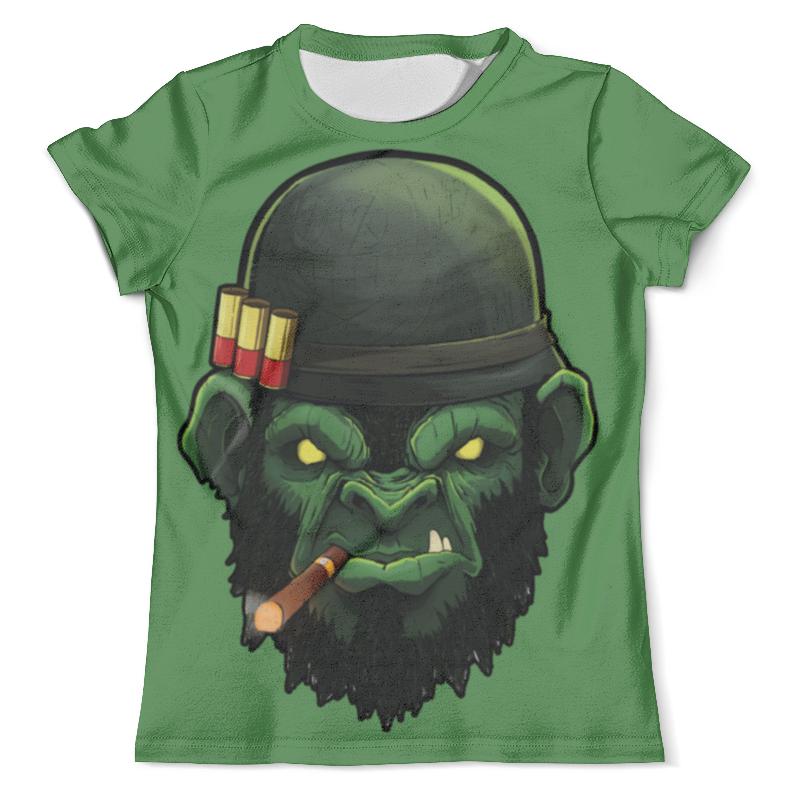 Футболка с полной запечаткой (мужская) Printio War monkey/обезьяна футболка с полной запечаткой мужская printio war monkey обезьяна