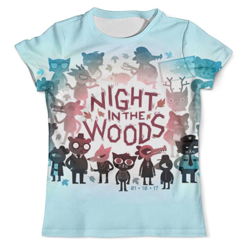 Футболка с полной запечаткой (мужская) Printio Night in the woods extence g the universe versus alex woods