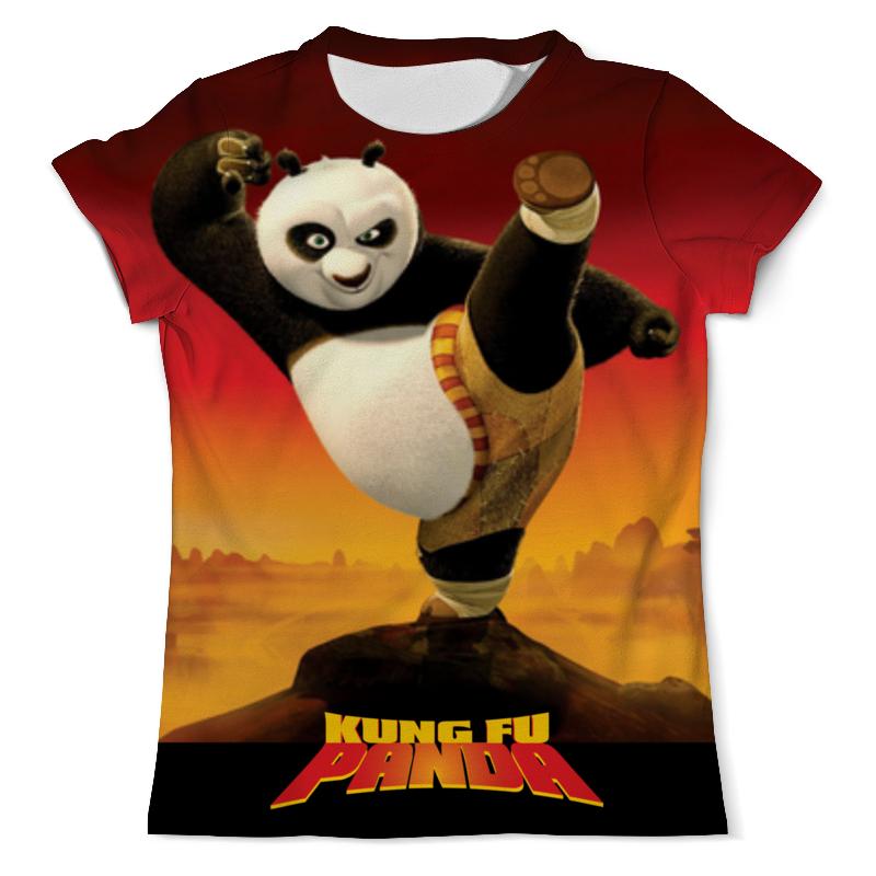 Футболка с полной запечаткой (мужская) Printio Kung fu panda 3 все цены