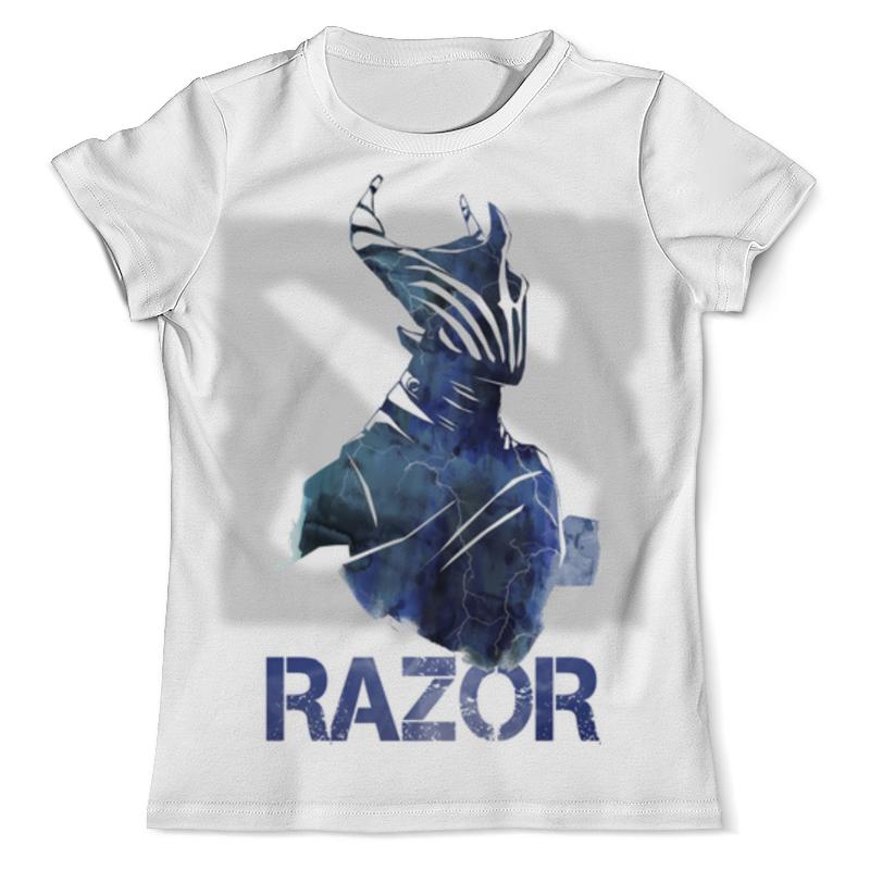 Футболка с полной запечаткой (мужская) Printio Razor dota 2 футболка с полной запечаткой мужская printio герои dota 2