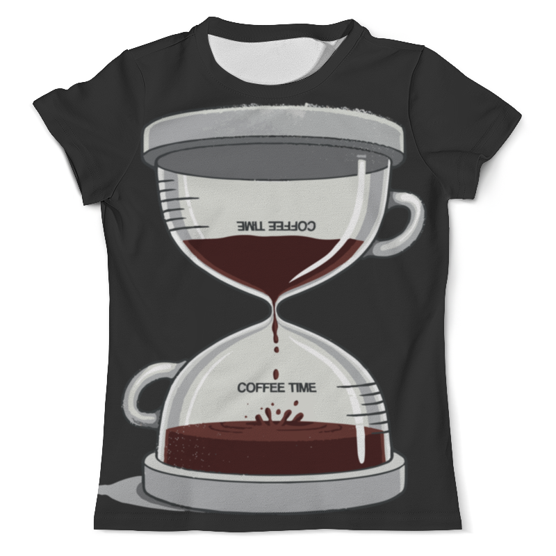 Футболка с полной запечаткой (мужская) Printio Coffee time / время кофе футболка с полной запечаткой мужская printio old time batter