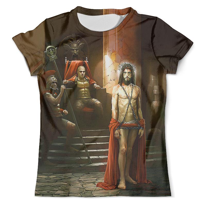 Printio Понтий пилат и иешуа футболка с полной запечаткой женская printio понтий пилат и иешуа