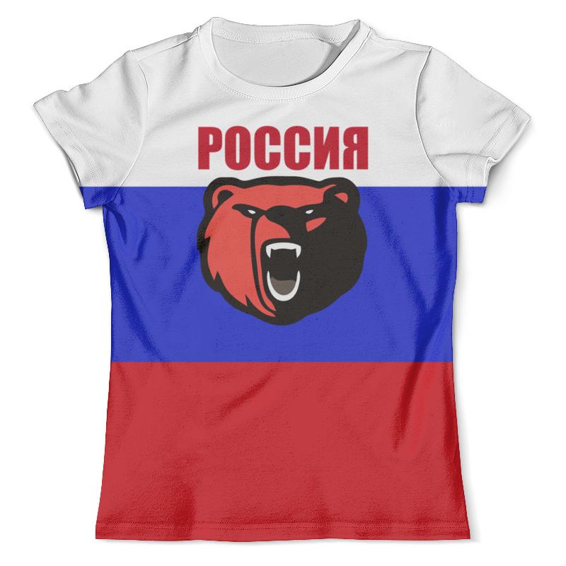 Футболка с полной запечаткой (мужская) Printio Россия футболка с полной запечаткой мужская printio россия царская