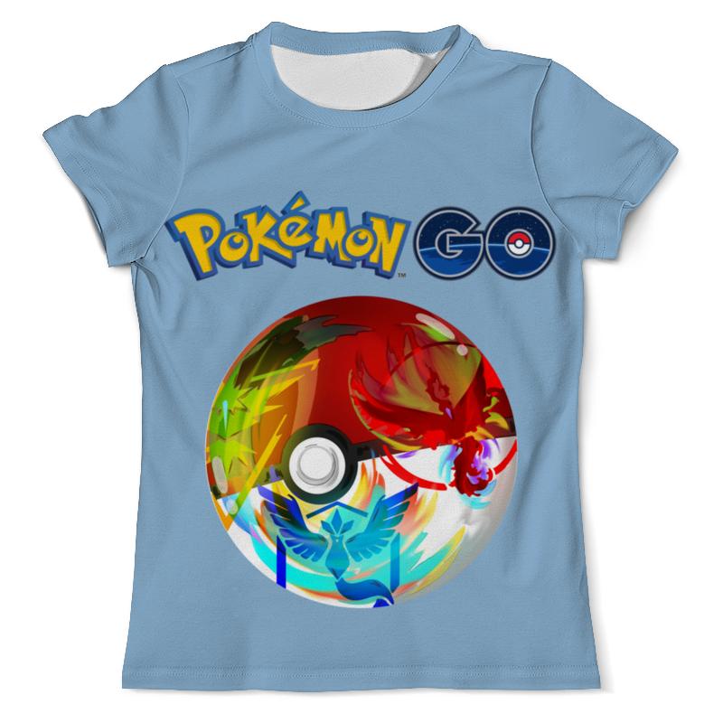 Printio Pokemon go футболка с полной запечаткой мужская printio we go to parties