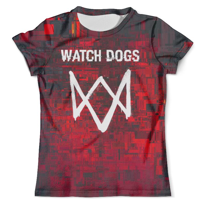 Футболка с полной запечаткой (мужская) Printio Watch dogs sleeping dogs