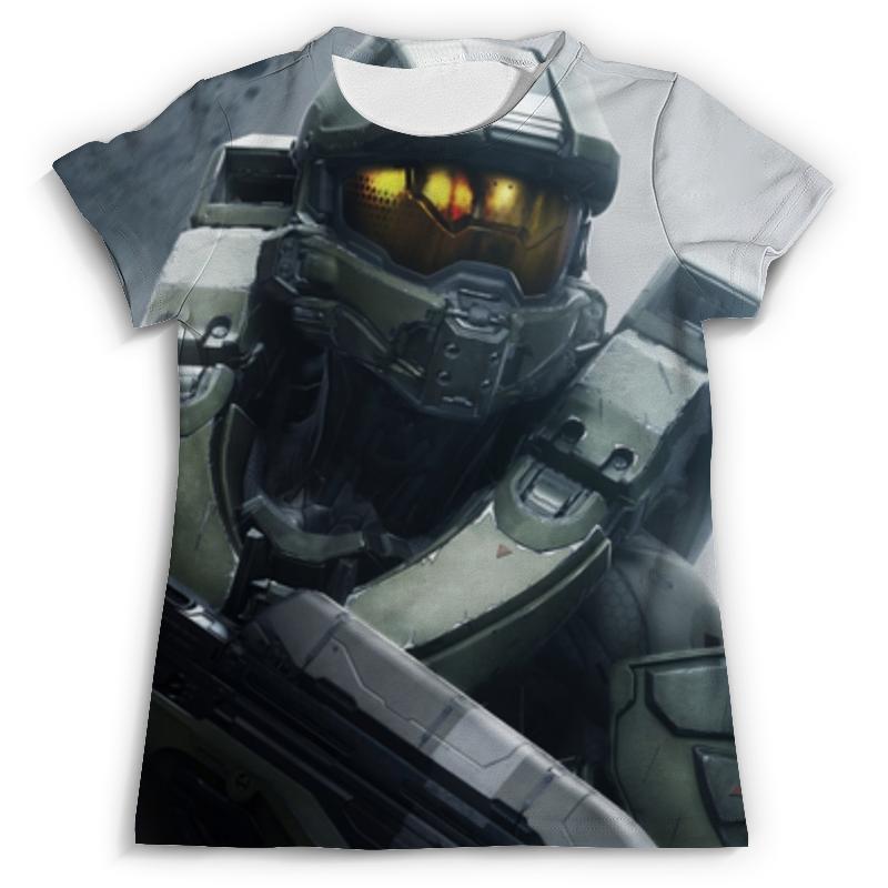 все цены на Футболка с полной запечаткой Printio Halo 5 , игры , halo , хало онлайн