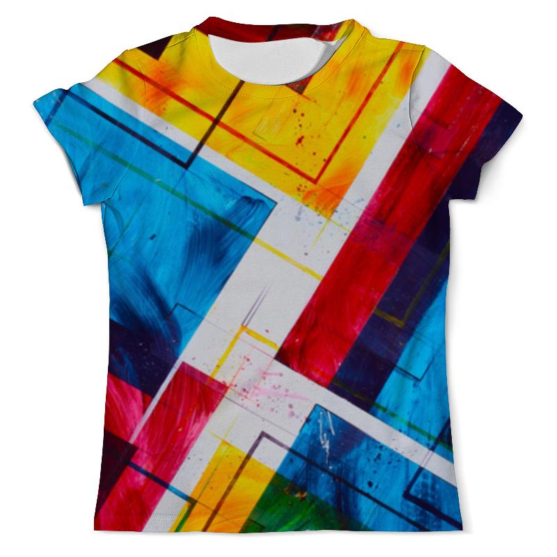 Футболка с полной запечаткой (мужская) Printio Абстракция 3d футболка с полной запечаткой мужская printio тигр 3d