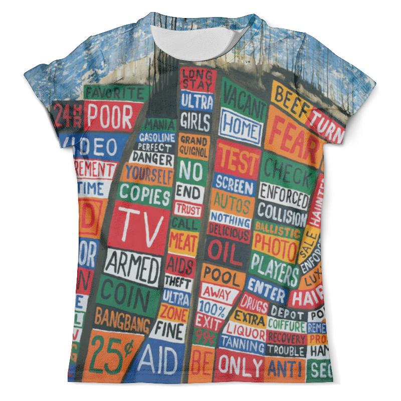 Футболка с полной запечаткой (мужская) Printio Radiohead album full print t-shirt блокнот printio radiohead