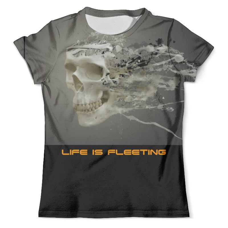 Футболка с полной запечаткой (мужская) Printio Life is fleeting футболка с полной запечаткой мужская printio love is