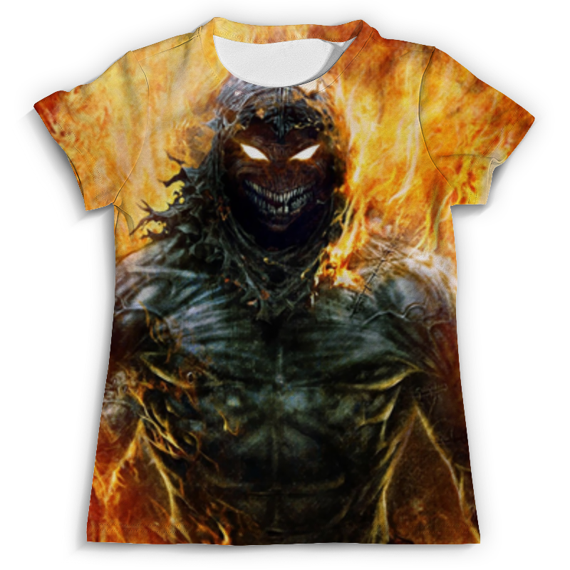 Футболка с полной запечаткой (мужская) Printio Disturbed футболка с полной запечаткой для мальчиков printio disturbed