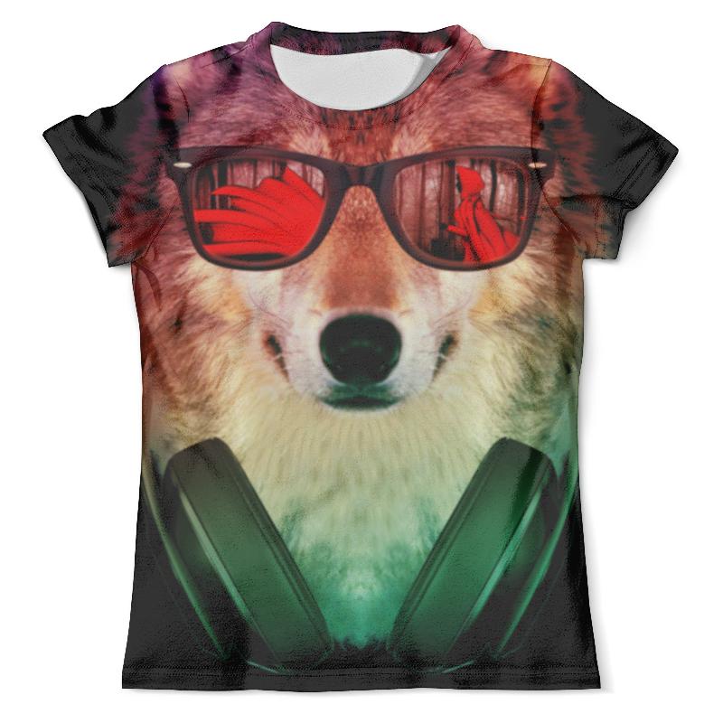 Футболка с полной запечаткой (мужская) Printio Волк в очках футболка с полной запечаткой мужская printio волк