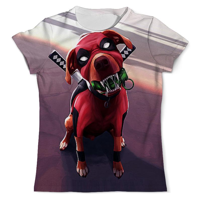 Футболка с полной запечаткой (мужская) Printio Dogpool (2) футболка с полной запечаткой мужская printio old map page 2