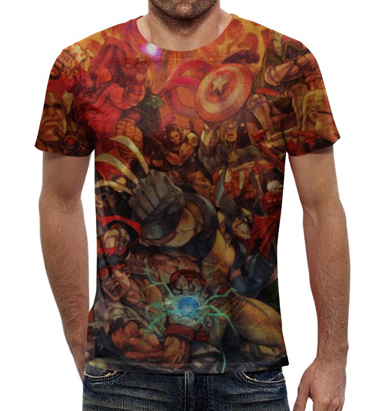 Футболка с полной запечаткой Printio Marvel art футболка с полной запечаткой для девочек printio marvel art