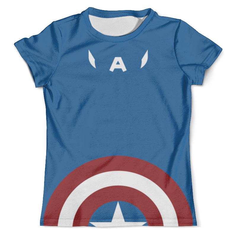 Футболка с полной запечаткой (мужская) Printio Капитан америка футболка с полной запечаткой мужская printio мэл гибсон эйр америка
