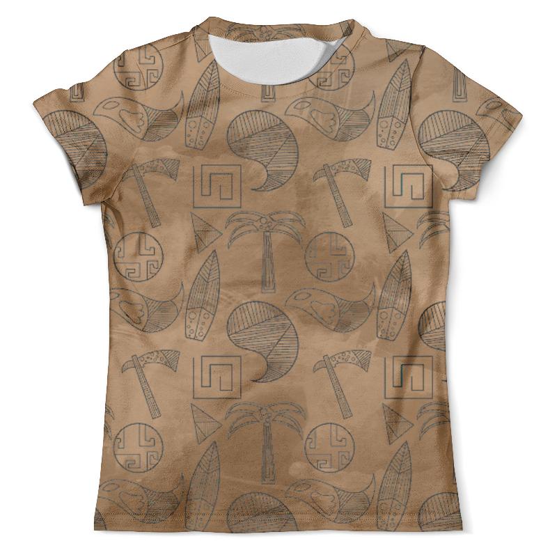 Футболка с полной запечаткой (мужская) Printio Ethnic design casual ethnic print and splicing design backpack for women
