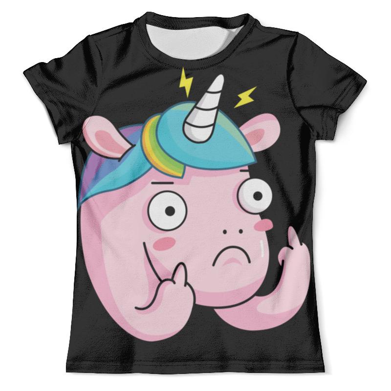 Футболка с полной запечаткой (мужская) Printio Unicorn / единорог футболка с полной запечаткой женская printio unicorn единорог