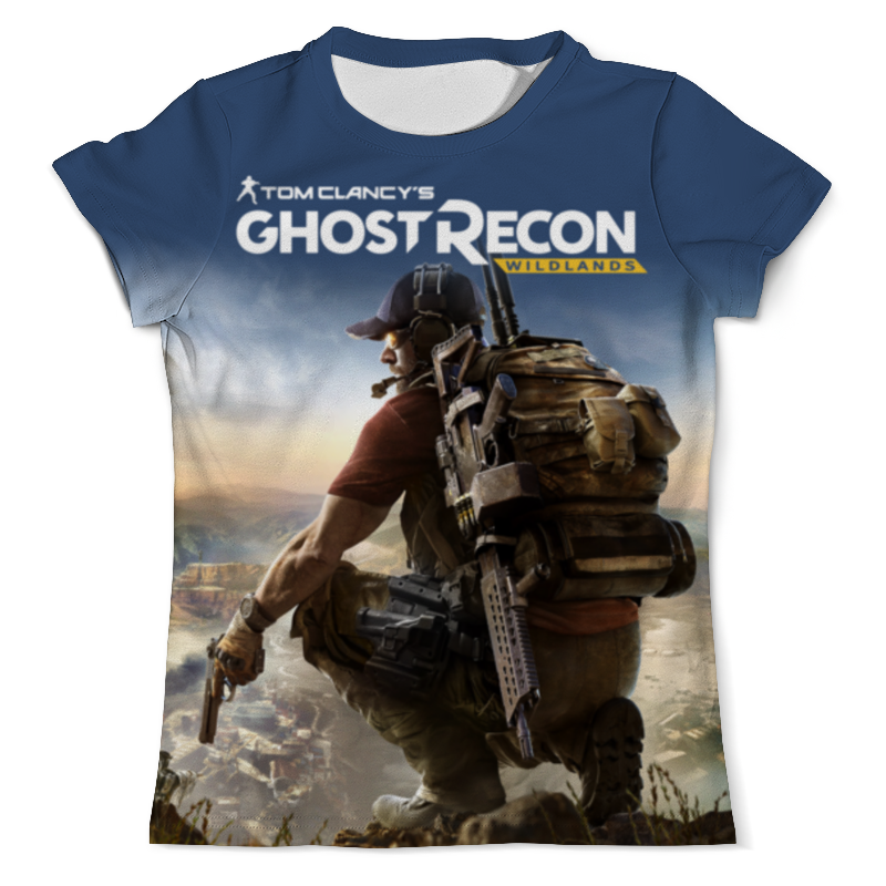 Футболка с полной запечаткой (мужская) Printio Tom clancys ghost recon wildlands tom clancy s ghost recon wildlands gold edition ps4