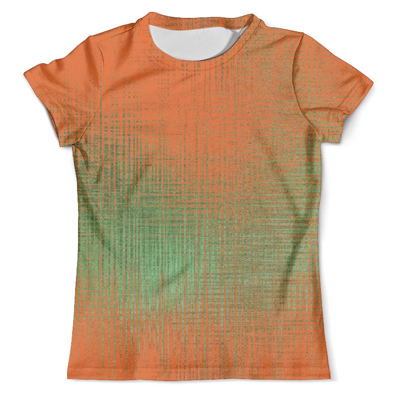 Футболка с полной запечаткой (мужская) Printio Оранжевые линии футболка с полной запечаткой женская printio линии