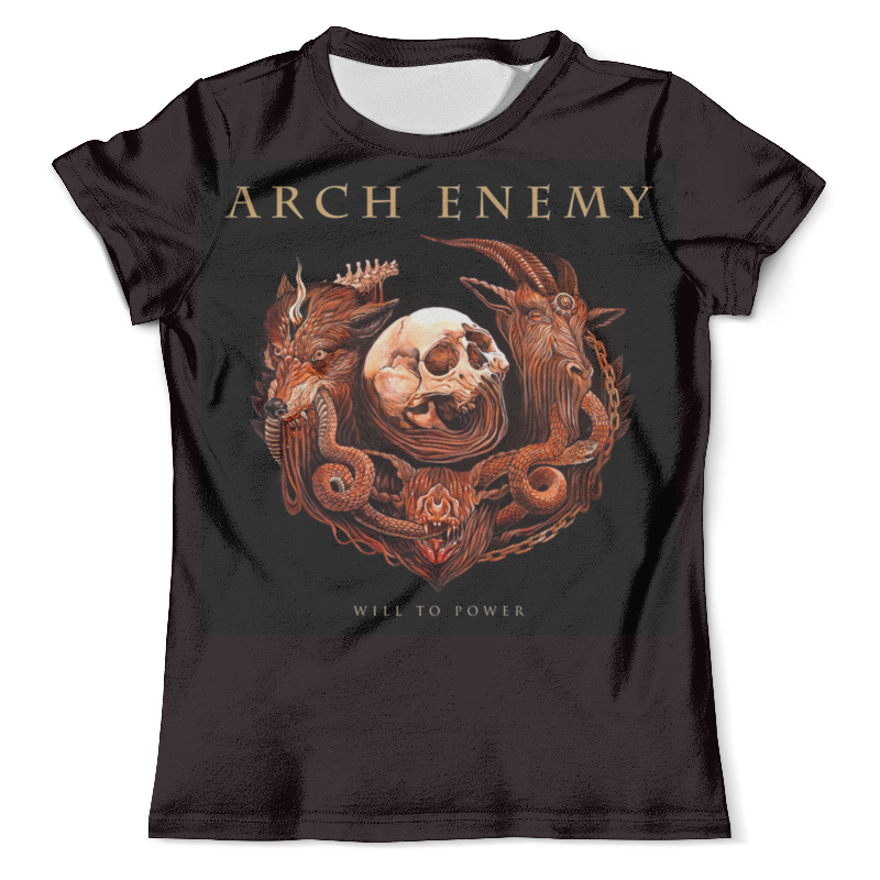 Футболка с полной запечаткой (мужская) Printio Arch enemy arch enemy arch enemy will to power lp cd