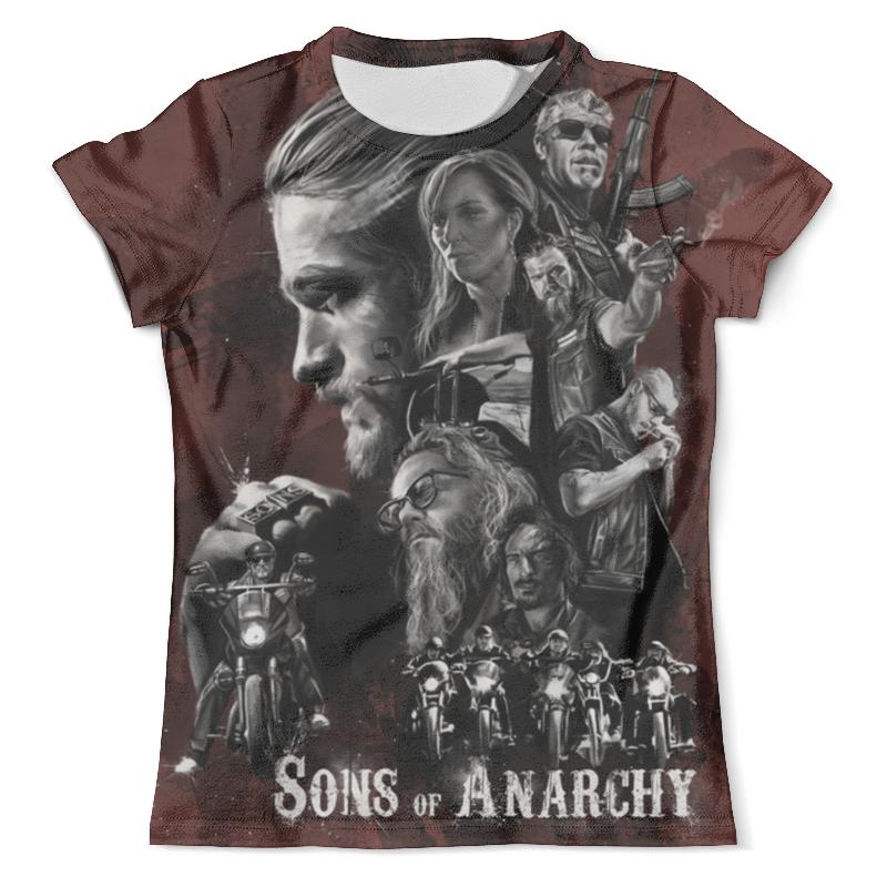 Футболка с полной запечаткой (мужская) Printio Sons of anarchy свитшот унисекс с полной запечаткой printio sons of anarchy page 7