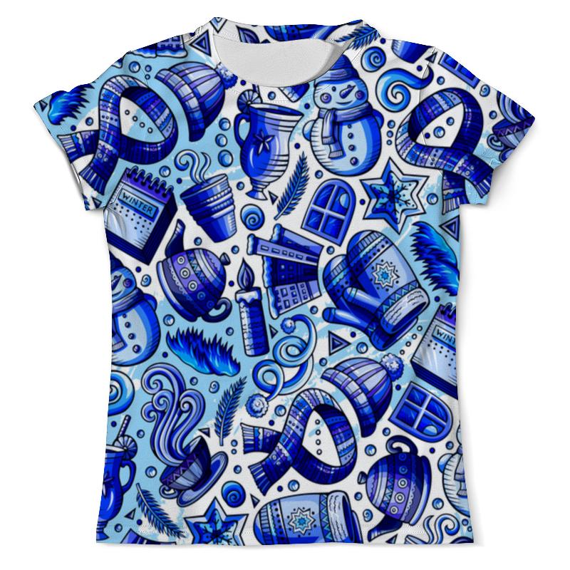 Футболка с полной запечаткой (мужская) Printio Новогодние праздники футболка с полной запечаткой мужская printio новогодние шары