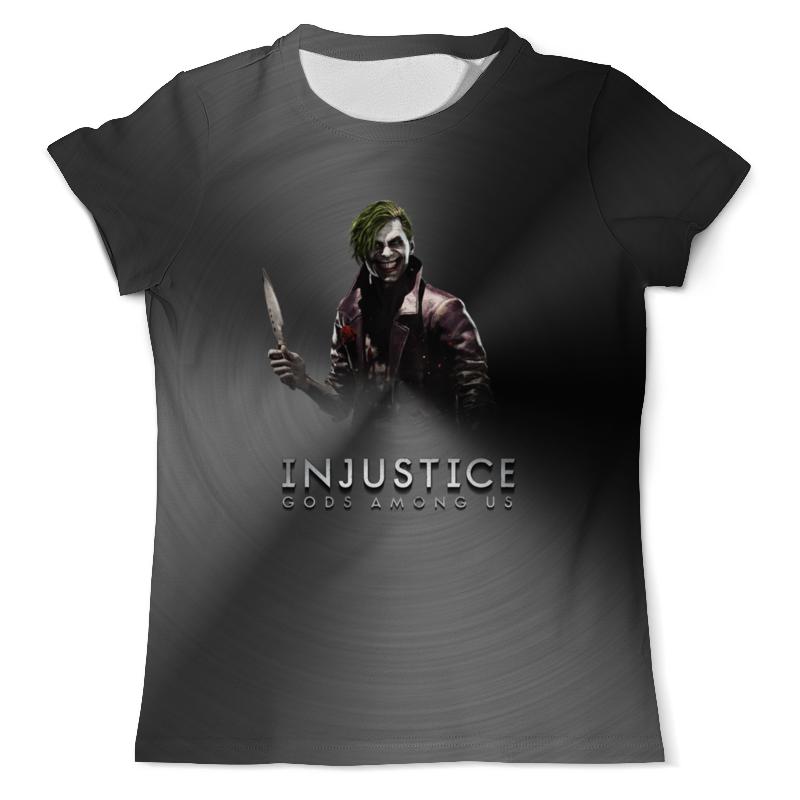 Футболка с полной запечаткой (мужская) Printio Injustice injustice 2 [ps4]