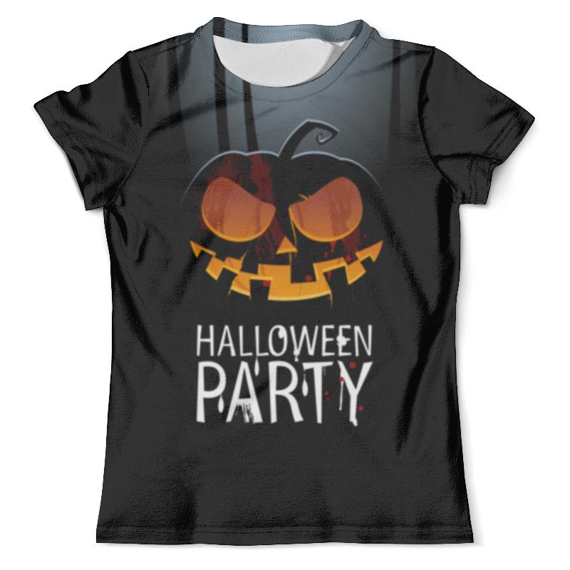 Футболка с полной запечаткой (мужская) Printio Halloween party halloween cosplay maid girls dress carnival party skeleton pattern role pirate costume princess dress black with gloves